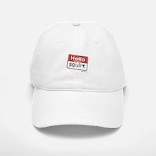 Hello my name is SQUIRT Baseball Baseball Cap