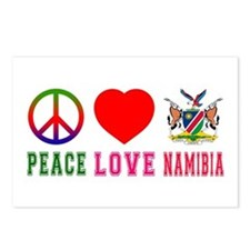 Peace Love Namibia Postcards (Package of 8)