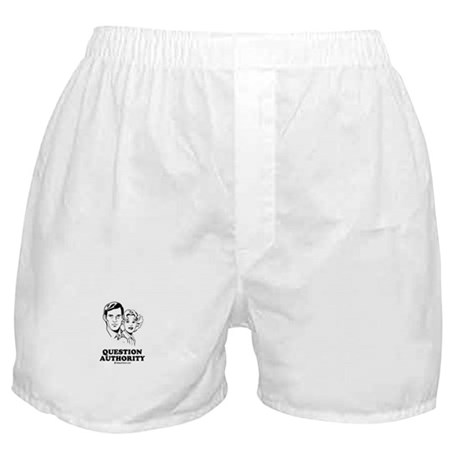 Question Authority Boxer Shorts