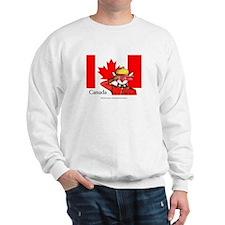 Canadian Mountie Fox Sweater