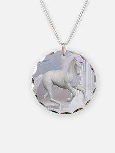 White Unicorn 2 Necklace