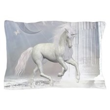 White Unicorn 2 Pillow Case
