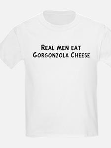 Men eat Gorgonzola Cheese T-Shirt