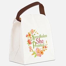 Funny Breastfeeding Canvas Lunch Bag