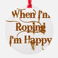 Roping Ornament