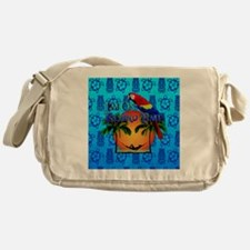 Island Time Tiki Messenger Bag