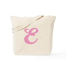 E Initial Tote Bag