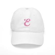 E Initial Baseball Cap