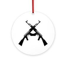 AKS X DARK Round Ornament
