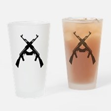 AKS X DARK Drinking Glass