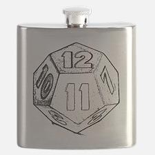 12 sided die dark Flask