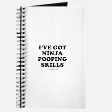 I've got ninja pooping skills / Baby Humor Journal