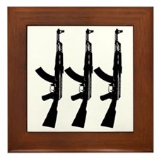 AKS ACROSS DARK Framed Tile