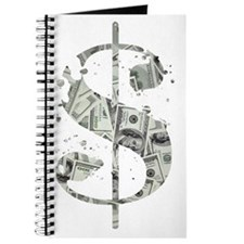Dollar Sign Light Journal