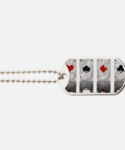 Aces Loaded Dog Tags