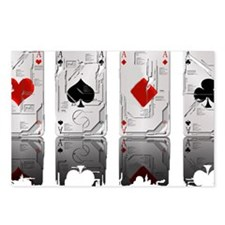 Aces Loaded Postcards (Package of 8)