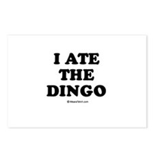 I ate the dingo / Baby Humor Postcards (Package of