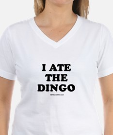 I ate the dingo / Baby Humor Shirt