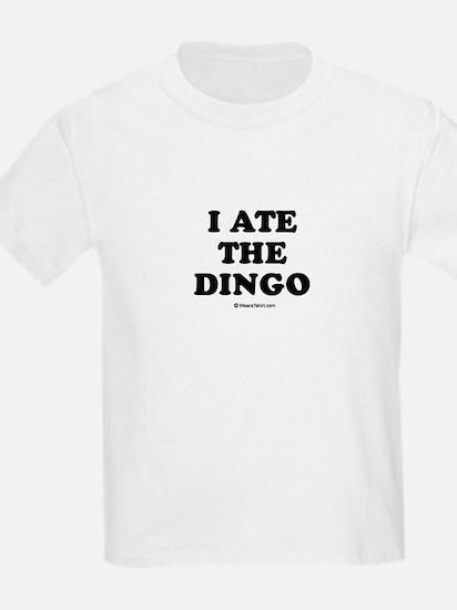 I ate the dingo / Baby Humor T-Shirt