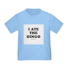 I ate the dingo / Baby Humor T