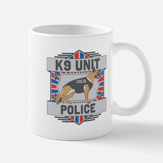 Custom German Shepherd K9 Unit Police Mug