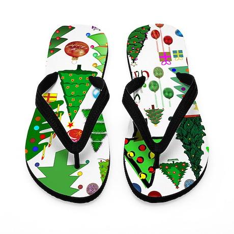 Oh Christmas Tree Flip Flops