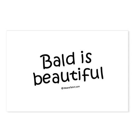 Bald is beautiful / Baby Humor Postcards (Package