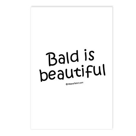 Bald is beautiful / Baby Humor Postcards (Package