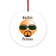 Baldie / Pelone Smilie Ornament (Round)