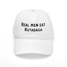 Men eat Rutabaga Baseball Cap