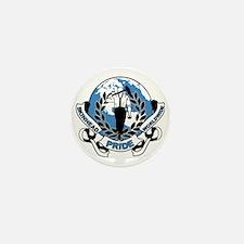 Skinhead Pride Worldwide Mini Button