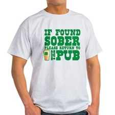 If found SOBER please return to the PUB with shamr