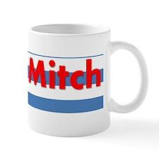 Ditch Mitch Red White Blue Mug