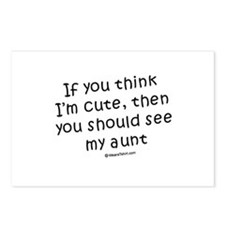 If you think I'm cute... see my aunt Postcards (Pa