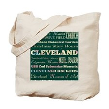 Cleaveland poster Tote Bag