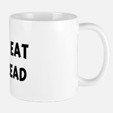 Men eat Garlic Bread Mug