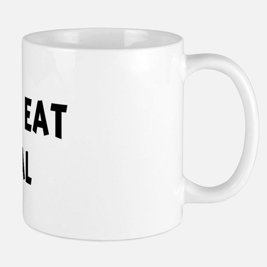 Men eat Oatmeal Mug