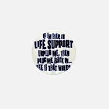 Life Spport Mini Button