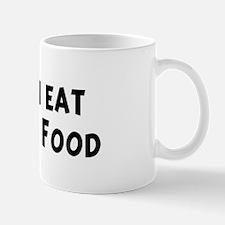 Men eat Romanian Food Mug