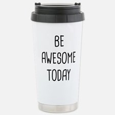 Be Awesome Thermos Mug