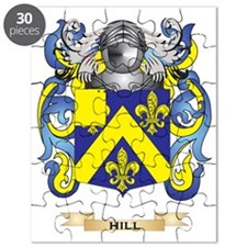 Hill Coat of Arms (Family Crest) Puzzle