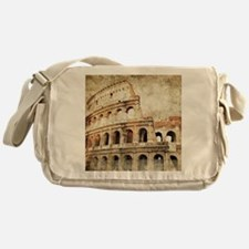 Vintage Roman Coloseum Messenger Bag