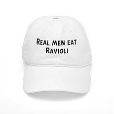 Men eat Ravioli Baseball Cap