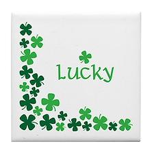 Lucky Tile Coaster
