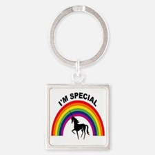 I'm special Square Keychain