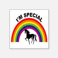 "I'm special Square Sticker 3"" x 3"""