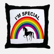 I'm special Throw Pillow