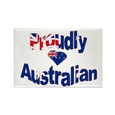Proud to be Australian Rectangle Magnet