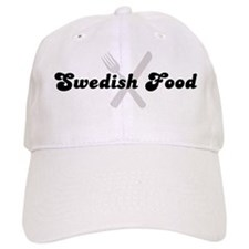 Swedish Food (fork and knife) Baseball Cap