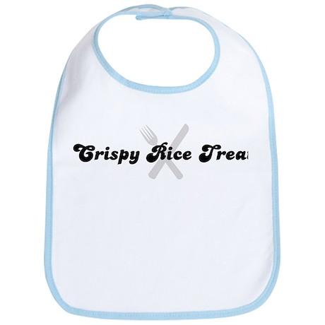 Crispy Rice Treat (fork and k Bib